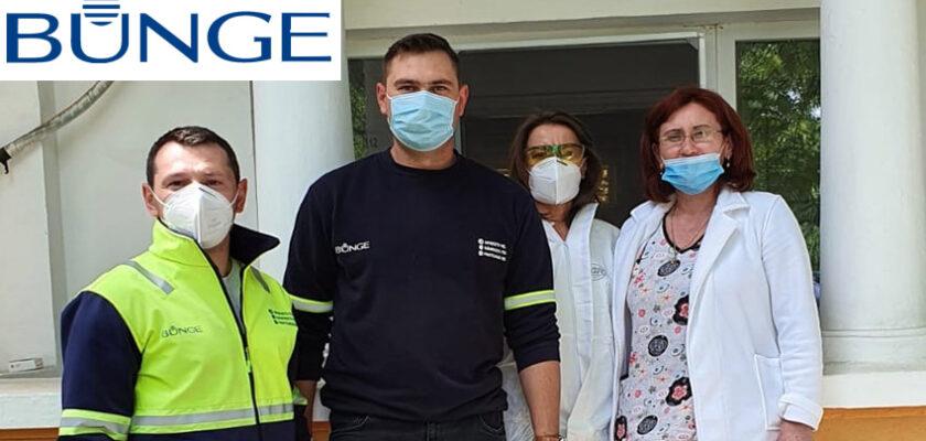 Echipamente de protecție donate de Bunge