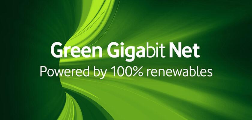 Rețeaua Vodafone din Europa va deveni 100% verde Green Gigabit