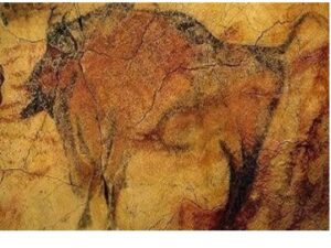 Zimbrii din Paleolitic