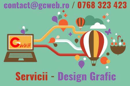 Grafica Vectoriala, realizare Logo sigla GCweb