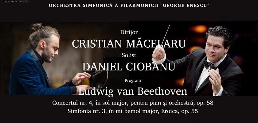 Marti, 9 si Miercuri 10 martie Cristian Macelaru si Daniel Ciobanu